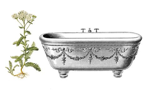 řebříčková koupel